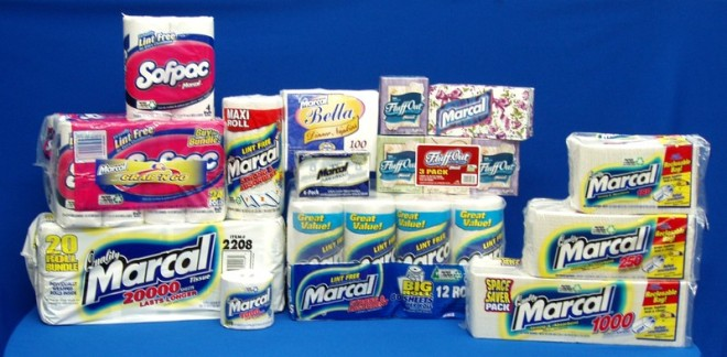 household paper supplies